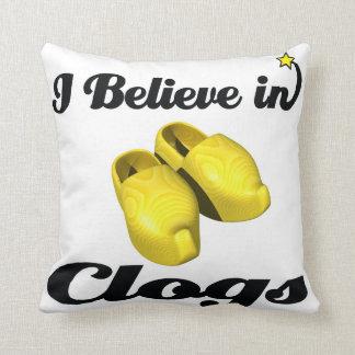 creo en estorbos almohada