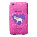 Creo en estrellas del rosa de los unicornios iPhone 3 cobreturas
