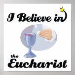 creo en eucaristía poster