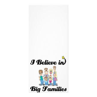 creo en familias grandes lonas