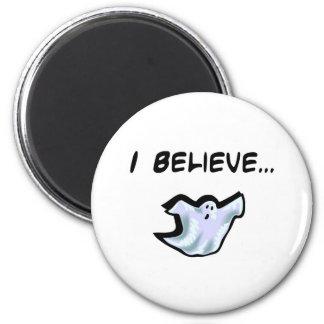 Creo en fantasmas imán para frigorífico