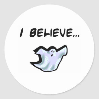 Creo en fantasmas etiqueta
