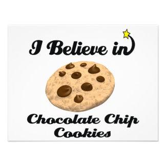 creo en galletas de microprocesador de chocolate invitacion personalizada