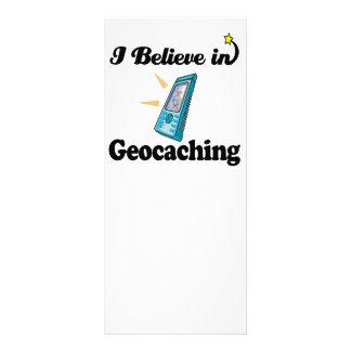 creo en geocaching plantilla de lona