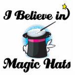 creo en gorras mágicos esculturas fotograficas