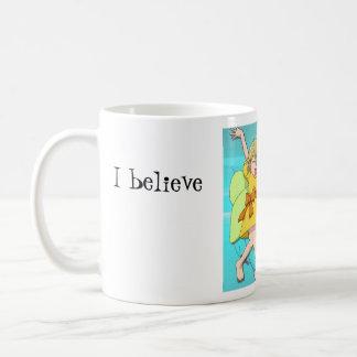 Creo en hadas taza clásica