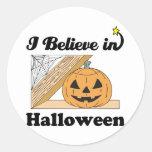 creo en Halloween Pegatinas