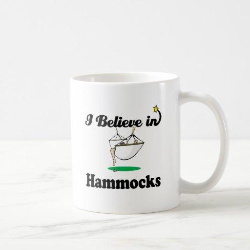 creo en hamacas taza