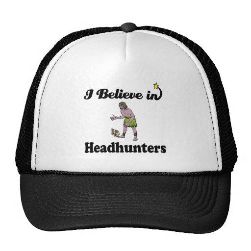 creo en headhunters gorra