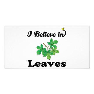 creo en hojas tarjetas personales con fotos
