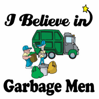 creo en hombres de basura fotoescultura vertical