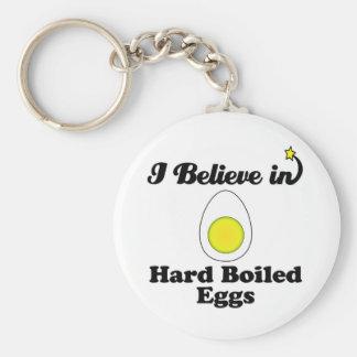creo en huevos duros llavero redondo tipo pin