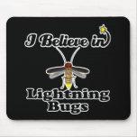 creo en insectos de relámpago tapete de raton