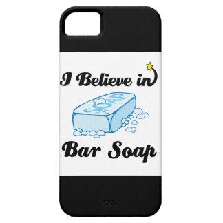 creo en jabón de barra funda para iPhone SE/5/5s