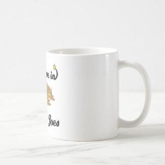 creo en joes descuidados tazas de café