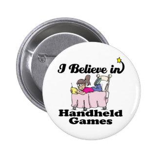 creo en juegos del PDA Pin