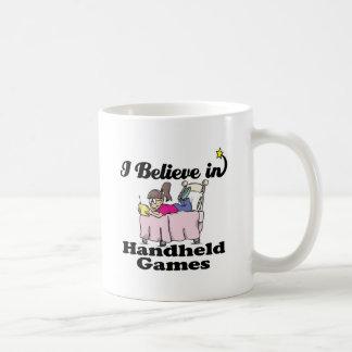 creo en juegos del PDA Taza De Café