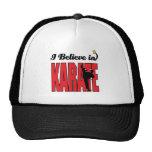 creo en karate gorras