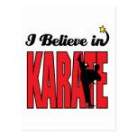 creo en karate postal