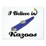 creo en kazoos anuncios