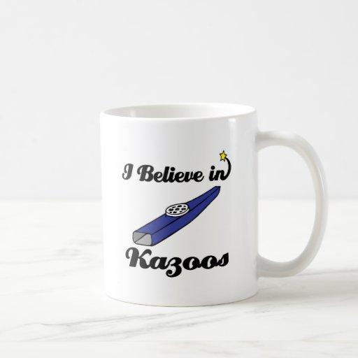 creo en kazoos tazas de café