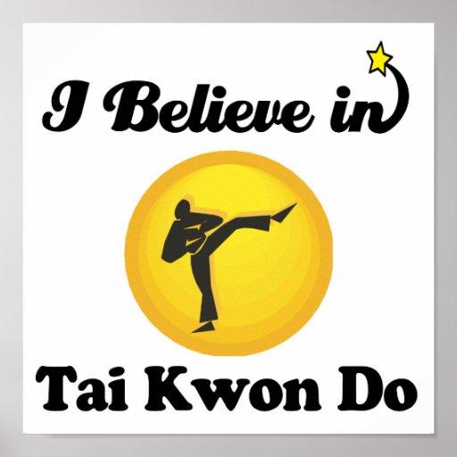 creo en kwon del tai hago póster