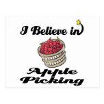 creo en la cosecha de la manzana postal