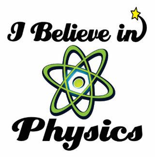 creo en la física fotoescultura vertical