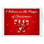 Creo en la magia de la tarjeta del interno del nav