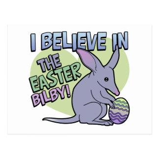 Creo en la Pascua Bilby Tarjeta Postal