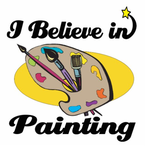 creo en la pintura esculturas fotográficas