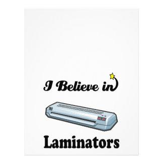 creo en laminadores tarjetas informativas