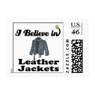 creo en las chaquetas de cuero