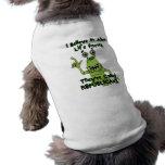 Creo en las formas de vida extranjeras, republican ropa de perros