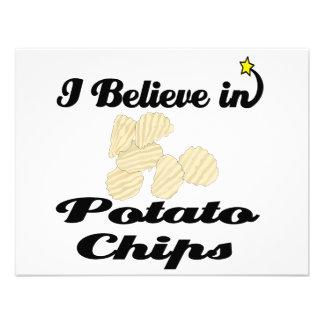 creo en las patatas fritas comunicados personales