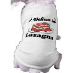 creo en lasagna ropa de perro