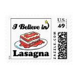 creo en lasagna sellos