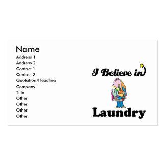 creo en lavadero tarjetas de visita