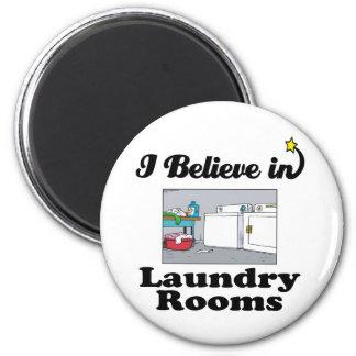 creo en lavaderos imán redondo 5 cm