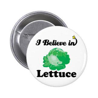 creo en lechuga pin