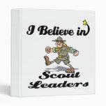 creo en líderes del explorador