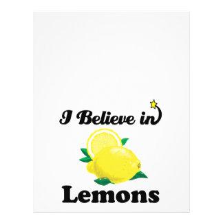 "creo en limones folleto 8.5"" x 11"""