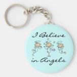 Creo en llavero de los ángeles