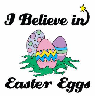 creo en los huevos de Pascua Fotoescultura Vertical