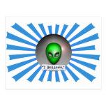 Creo en los UFO Postal