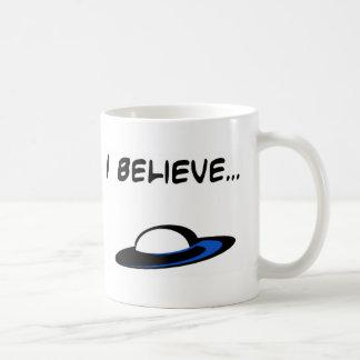 Creo en los UFO Tazas
