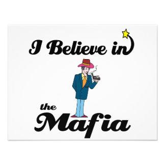 creo en mafia invitación