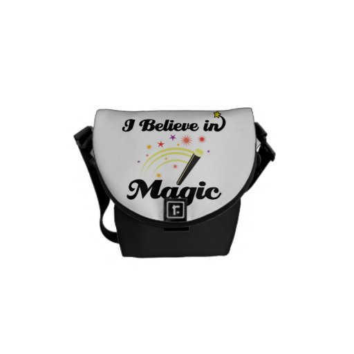 creo en magia bolsa messenger