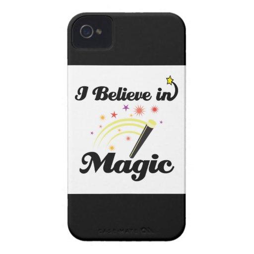 creo en magia Case-Mate iPhone 4 funda