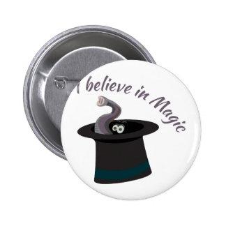 Creo en magia pin